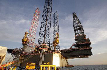 The Orizont rig has been in Iranian waters since October 2005