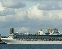 The Star Princess as seen in a file photo in 2003