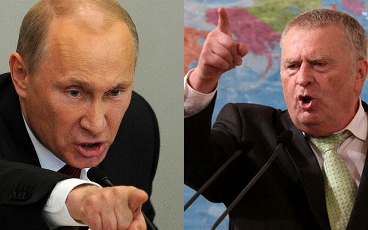 The Two Vladimirs:  Putin and Zhirinovsky (Gog and Magog?)
