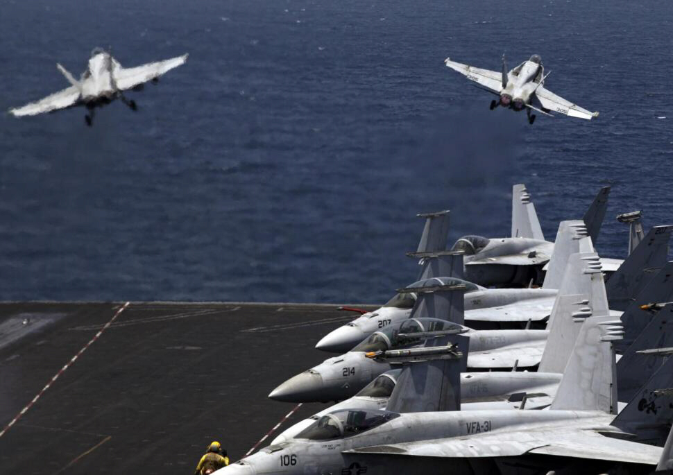 The U.S. military has begun bombing ISIS terrorists in Syria.