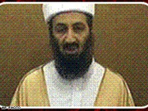 The new Bin Laden, 2007, with beard dyed black