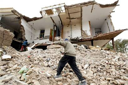 Thousands die in Iran quake