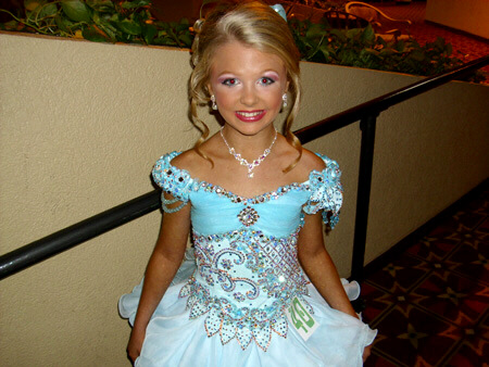 Girl of unknown age from TLC's 'Toddlers and Tiaras': just John Mark Karr's type