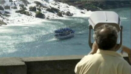 Tourists spotted a torso at the base of Niagara Falls