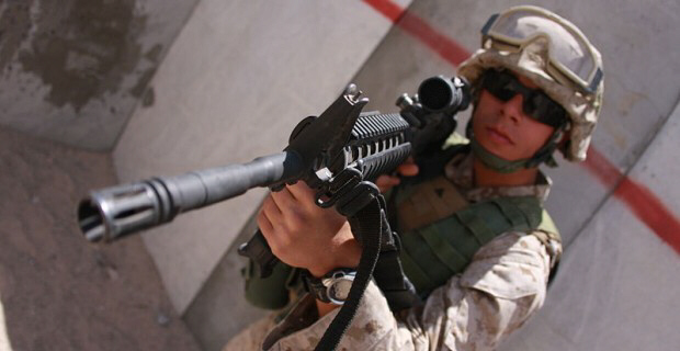 US troops plan to operate amongst civilian population