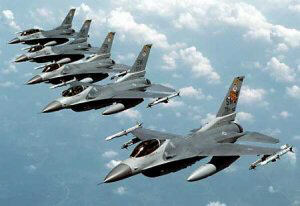 Turkey military scrambles F-16 fighter jets to Syrian border
