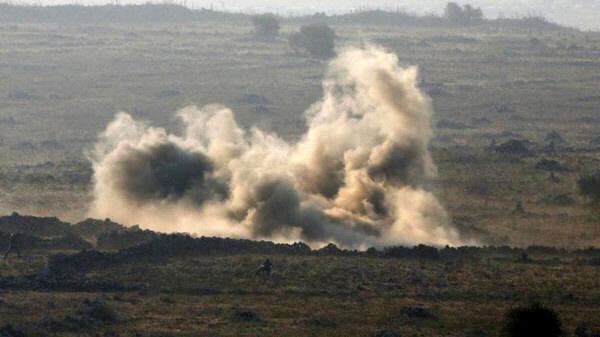 Two rockets fired from Syria hit the Israeli-occupied Golan Heights