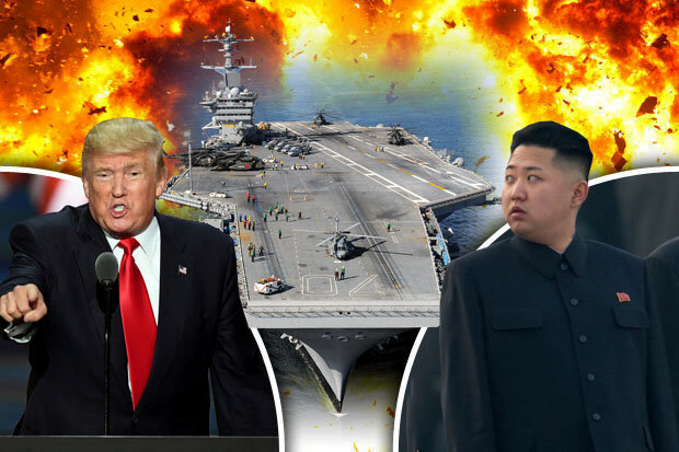 US-NKorea nuclear war in Pacific