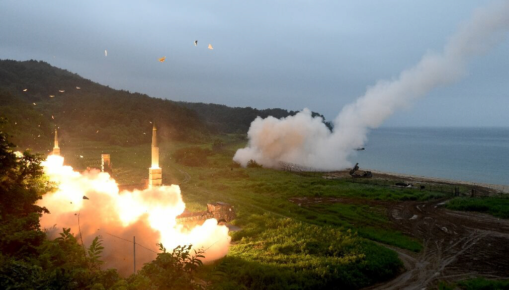 US and South Korean militaries conduct live-fire exercise