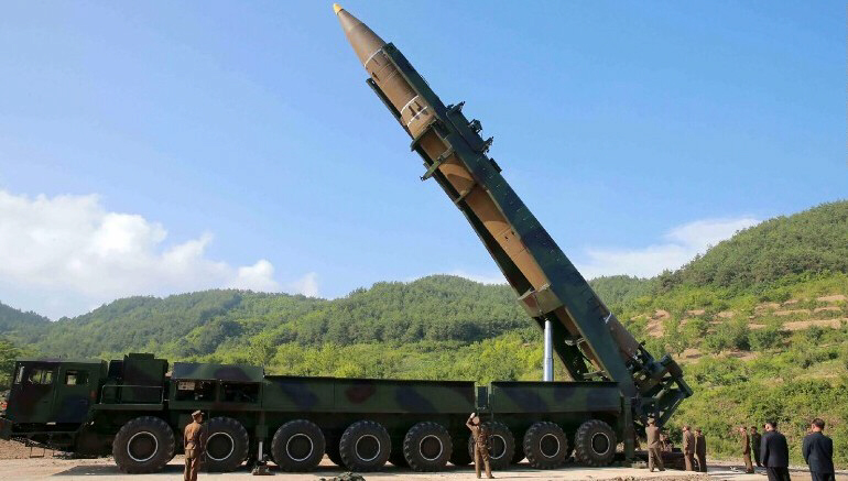 US confirms NK launched an ICBM