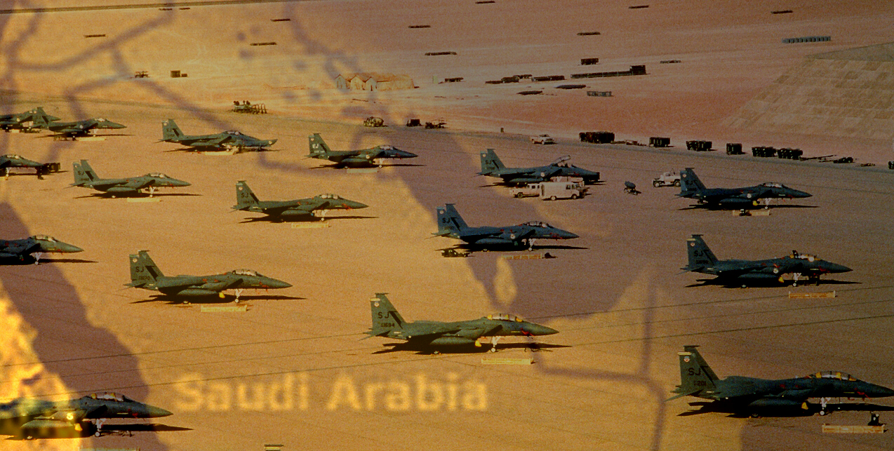 US attacks in Syria and mass mobilisation of forces in Saudi Arabia will be the last battles for America in the Middle East