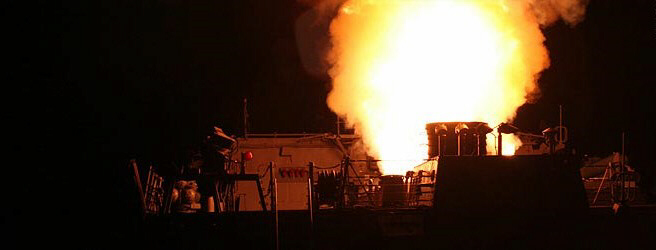 US launches Tomahawk missiles at targets in Libya