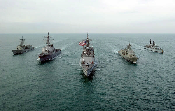 US warships moving towards Syria