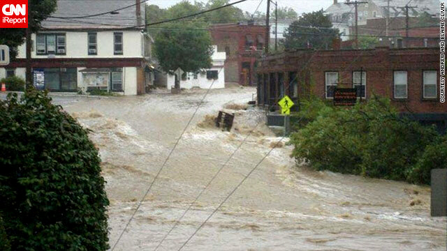 Vermont suffered its worst flooding since 1927, officials said