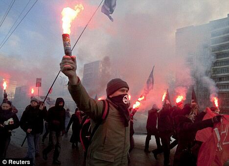 Violent clashes in Moscow