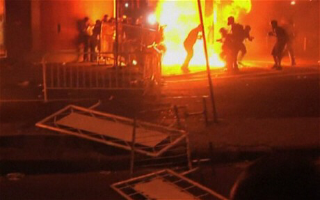 Violent protests in Brazil as Pope visits