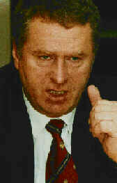 Russian ultranationalist Vladimir Zhirinovsky