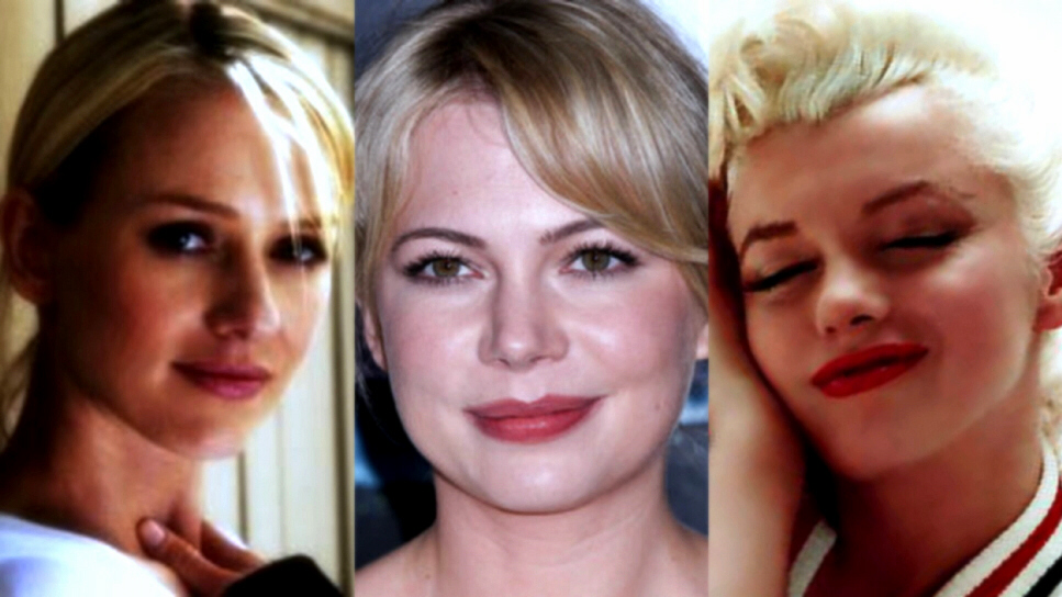 Naomi Watts, Michelle Williams, Marilyn Monroe