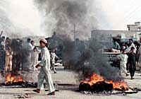 Anti-US riots in Karachi