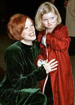 Frances Fisher and daughter, Francesca Eastwood